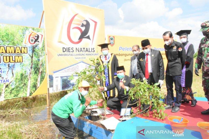 Terbaik di Kalimantan jadi kado terindah Dies Natalis ke-62 ULM