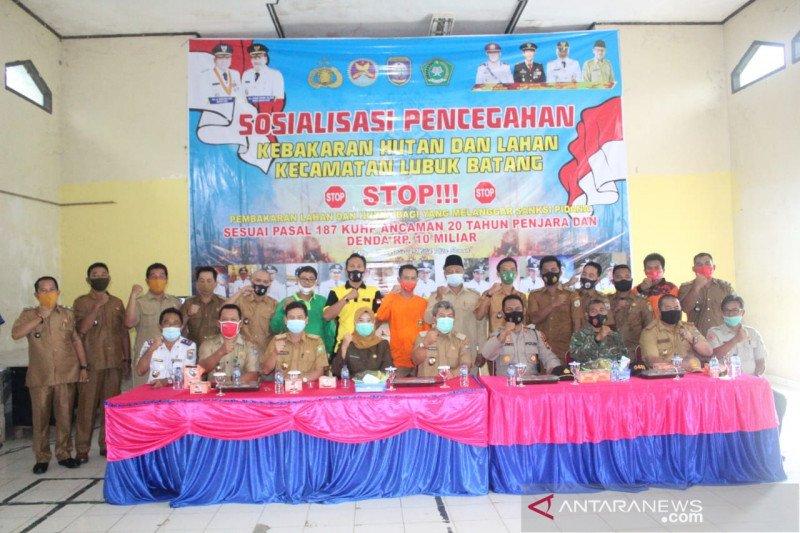 Pemkab Ogan Komering Ulu terapkan  sanksi pidana-denda pelaku karhutla