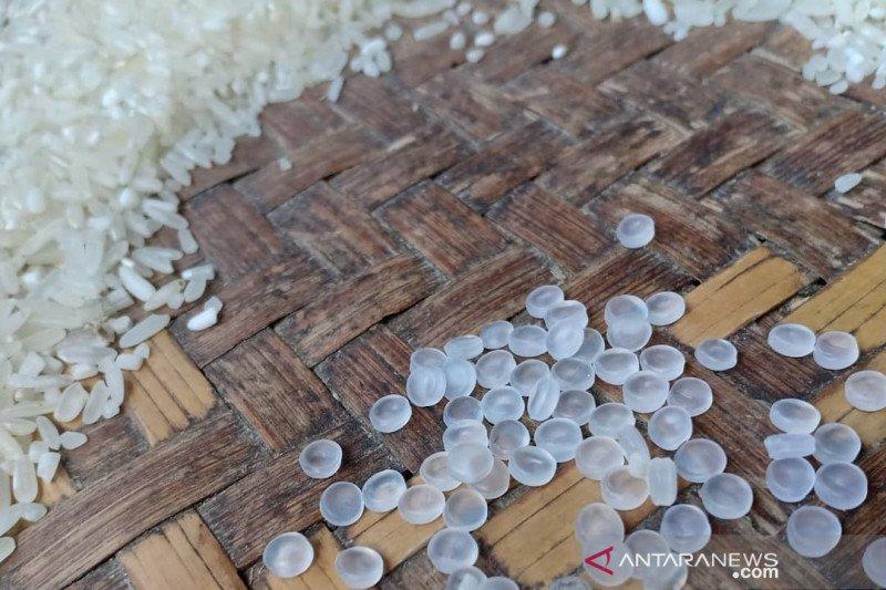 Polisi usut bijih plastik dalam beras bantuan