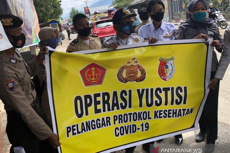 Polda Sulteng  temukan 3.543 pelanggar protokol kesehatan