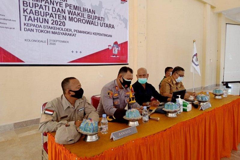 KPU Morut sosialisasikan kampanye Pilkada 2020