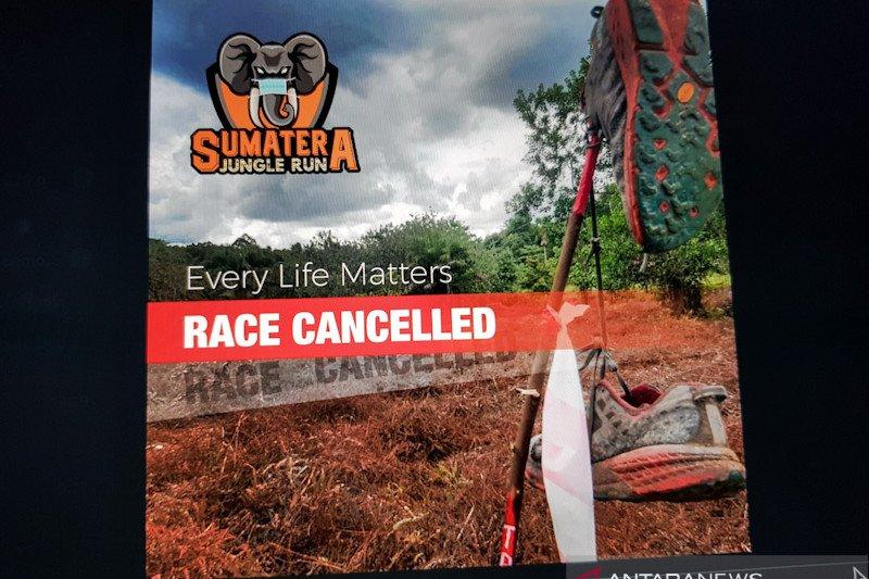 Untuk kedua kalinya, lomba lari Sumatera Jungle Run dibatalkan akibat COVID-19