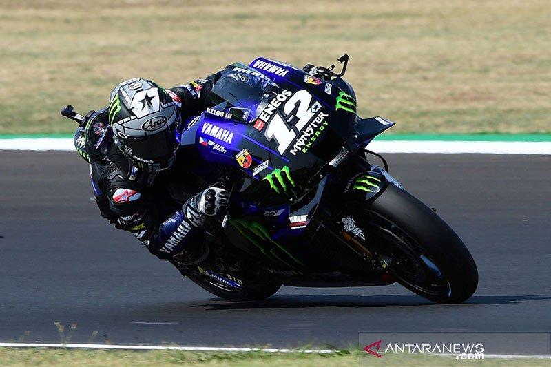 Vinales dominasi FP2 MotoGP Aragon, Ducati kepayahan