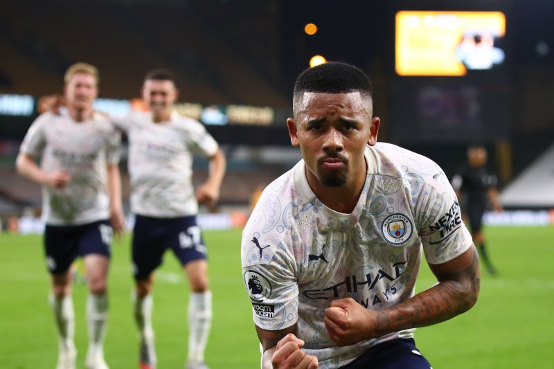Manchester City tekuk Wolverhampton 3-1