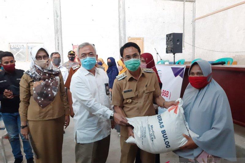 Pemkab Sigi  bantu kebutuhan pangan warga kala pandemi COVID-19