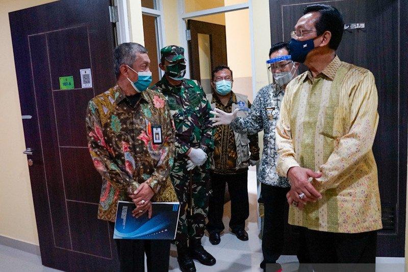 Selter Tegalarejo Yogyakarta dibuka menangani 19 pasien COVID-19