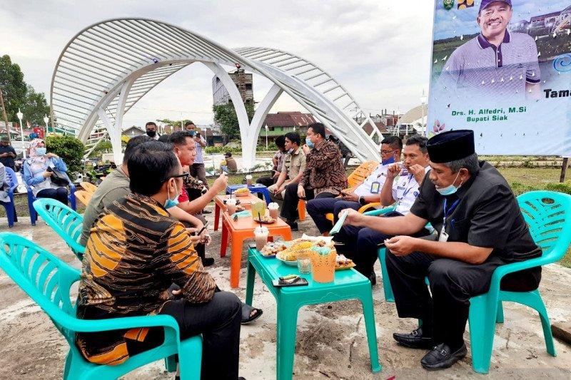 Taman Syarifah Sembilan Sungai Apit ramai dikunjungi usai diresmikan