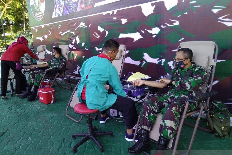 Kodam XIV/Hasanuddin targetkan sumbang 800 kantong darah jelang HUT TNI
