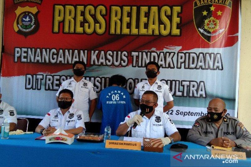 Polda Sultra  mengungkap kasus penipuan pinjaman daring, korban 49 orang
