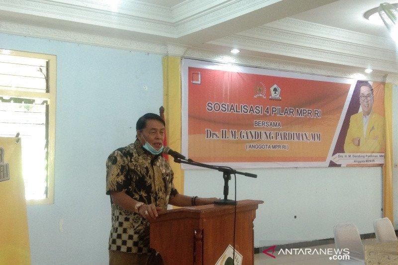 Anggota MPR RI menyosialisasikan Empat Pilar di Bantul