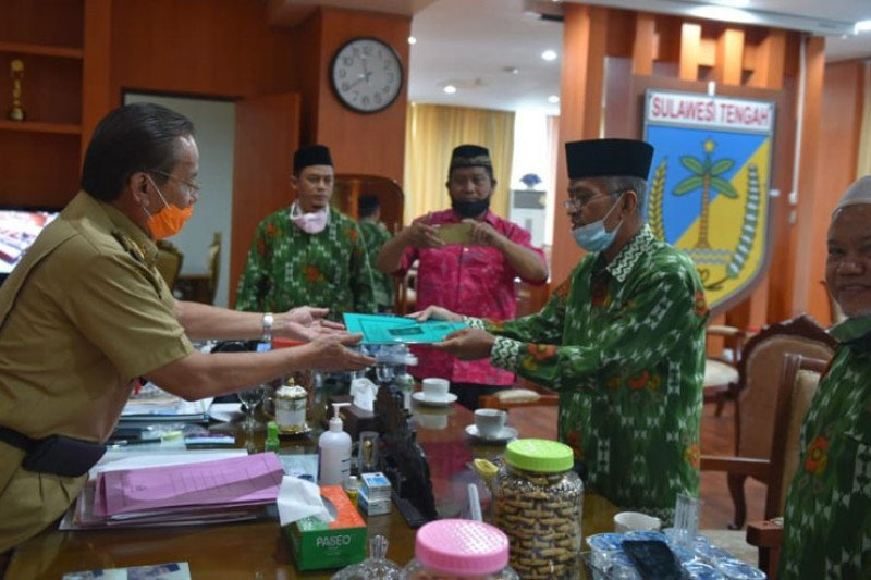 DPW LDII kunjungan silaturahmi ke Gubernur Sulteng