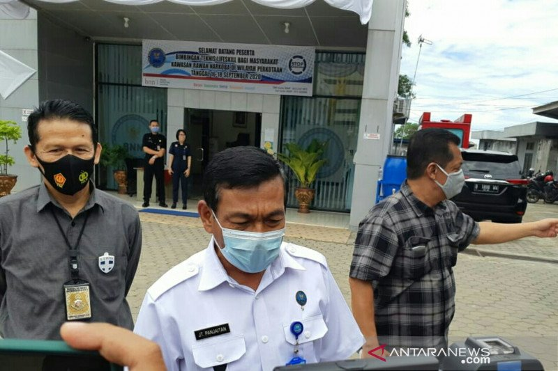 Seorang anggota DPRD Palembang jadi aktor intelektual peredaran narkoba