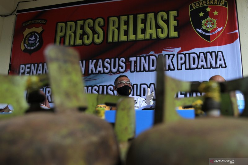 POLISI SITA 350 BUAH TABUNG ELPIJI 3 KILOGRAM
