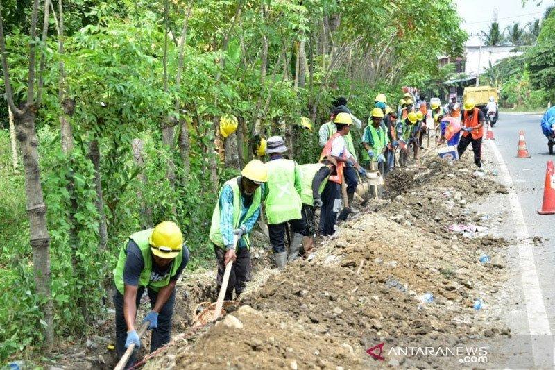 Pemerintah fokus pembangunan infrastruktur padat karya selama pandemi COVID-19