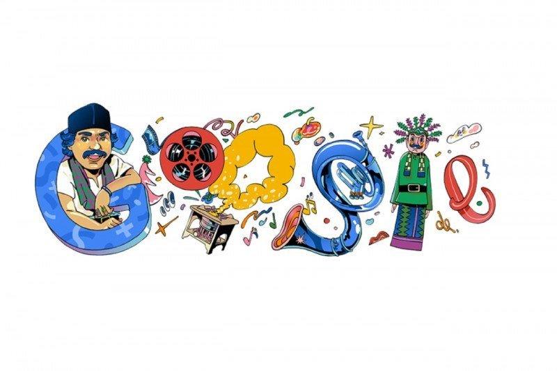 Google hari ini tampilkan Doodle bertema Benyamin Sueb