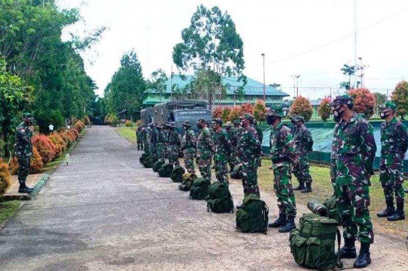 Kodim 1711 Boven Digoel berangkatkan 59 satgas TMMD di perbatasan RI-PNG