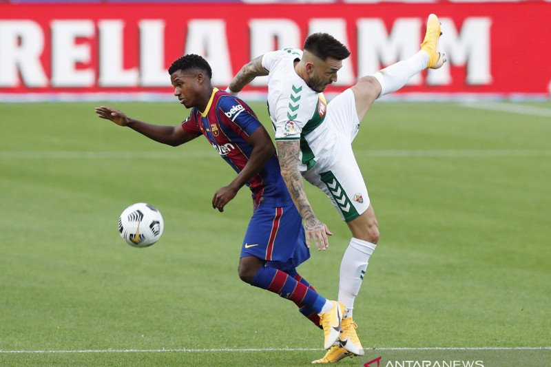 Barcelona memperpanjang kontrak Ansu Fati