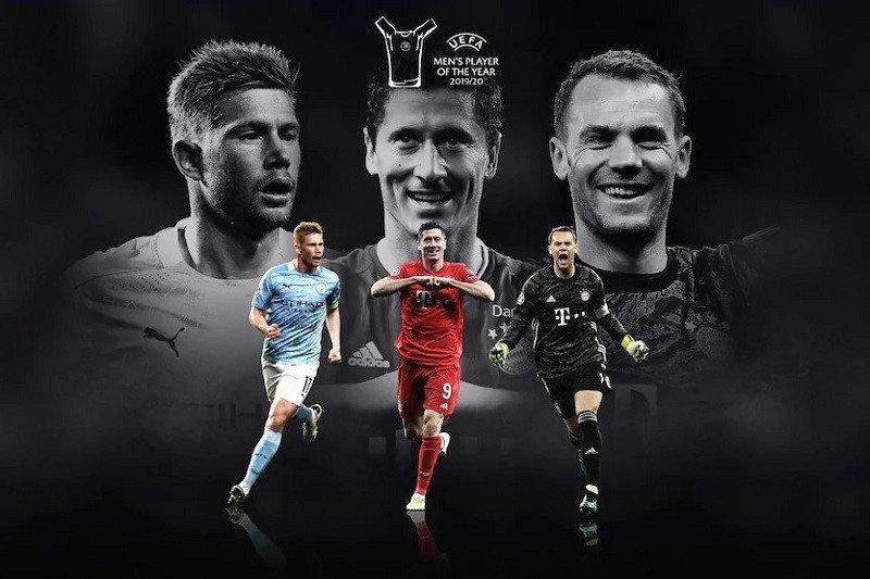 Duo pemain Munchen serta De Bruyne nominasi Pemain Terbaik UEFA