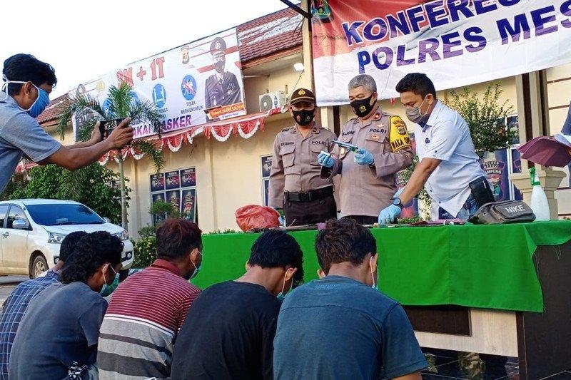 Polisi Mesuji masih kejar empat pelaku pencurian sarang burung walet