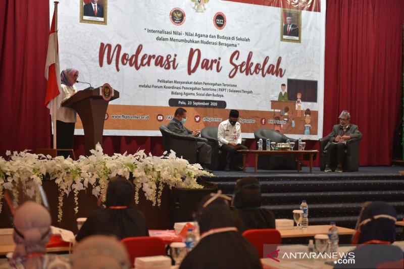 BNPT-FKPT Sulteng  harap guru agama bantu cegah radikalisme di sekolah