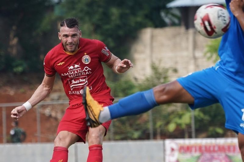 Marko Simic ingin tetap di Persija sampai usia 40 tahun
