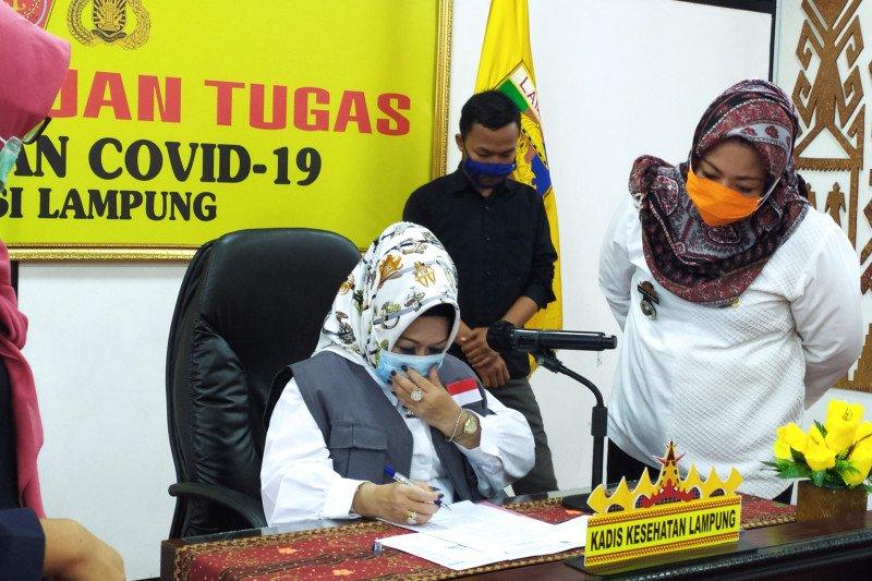 Pasien sembuh COVID-19 di Lampung sudah capai 495 orang