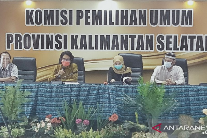 KPU tetapkan Cagub-Cawagub, Sahbirin lawan Denny Indrayana
