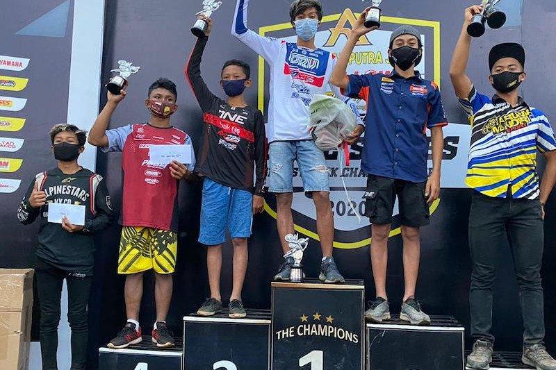 Pembalap Muba juarai Indiel Grasstrack Series Championship 2020