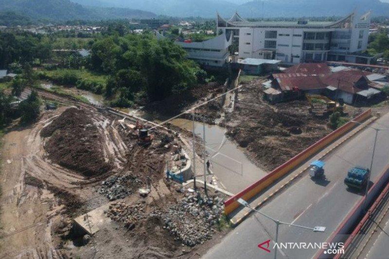 Proyek Pengendalian Banjir Di Padang