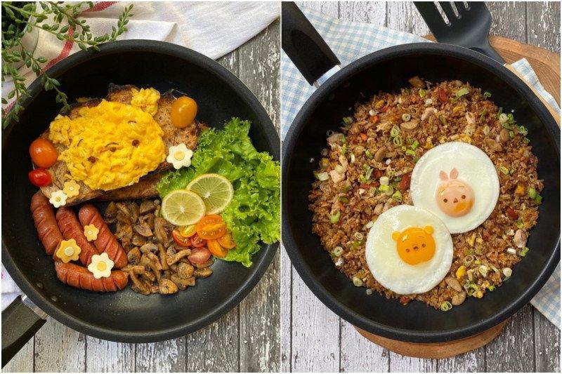 Tips masak telur orak arik berbentuk karakter super lucu