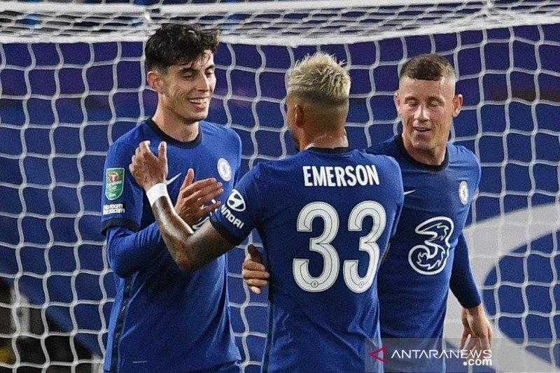 Chelsea, Everton serta Newcastle pesta gol di putaran ketiga Piala Liga