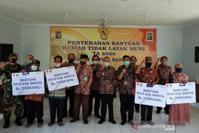 Bantul menyalurkan bantuan perbaikan 138 rumah tidak layak huni