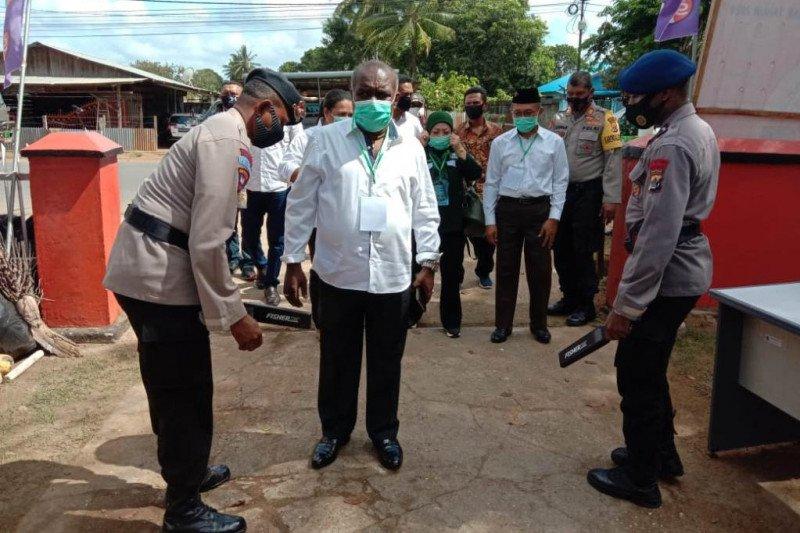 300 Polri-TNI Merauke amankan rapat pencabutan nomor urut Pilkada