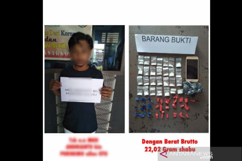 Polisi Kendari tangkap pemuda edarkan puluhan gram sabu-sabu