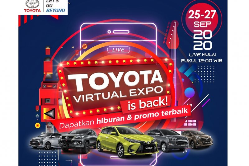 Toyota Virtual Expo akan dihelat berskala nasional