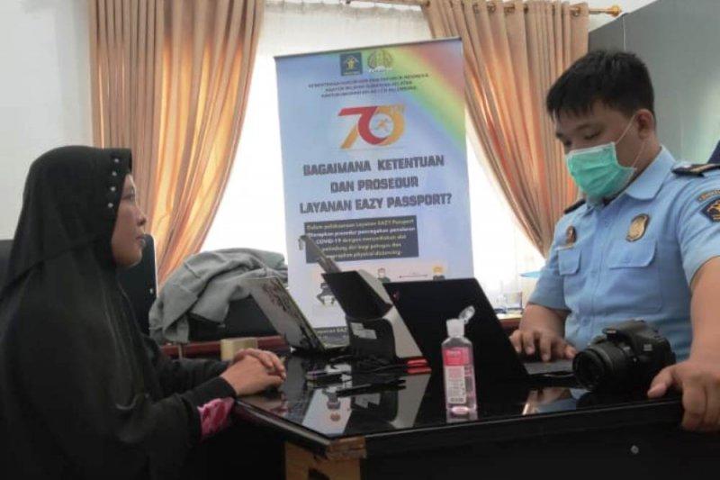 Imigrasi Palembang layani pembuatan paspsor jemput bola di Kabupaten Banyuasin