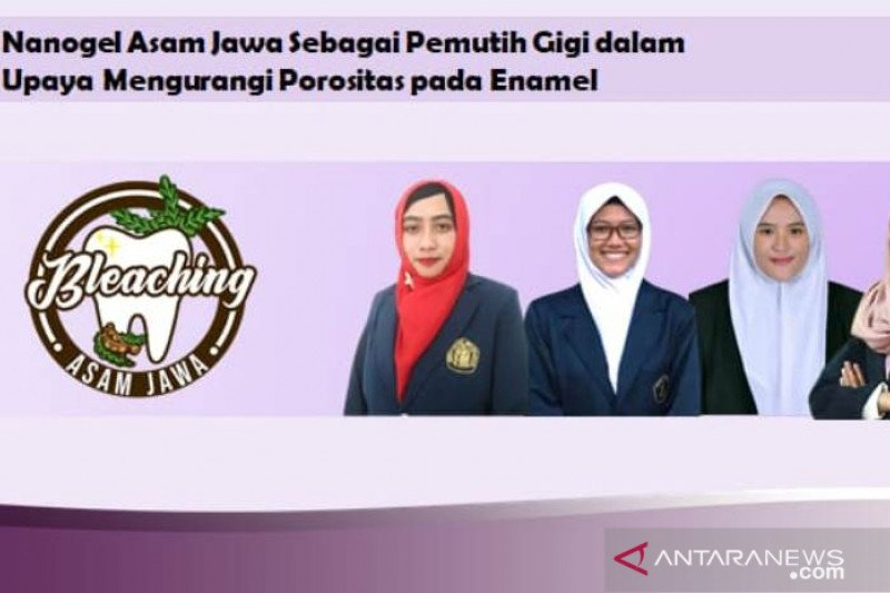 Brawijaya University students make tamarind-based tooth whitening gel