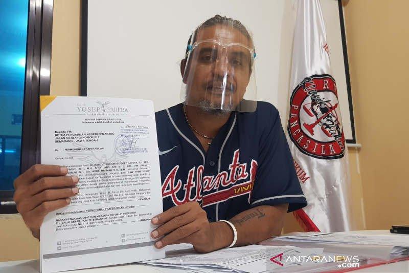 Ditetapkan jadi tersangka,  penjual obat ilegal praperadilankan BBPOM Semarang