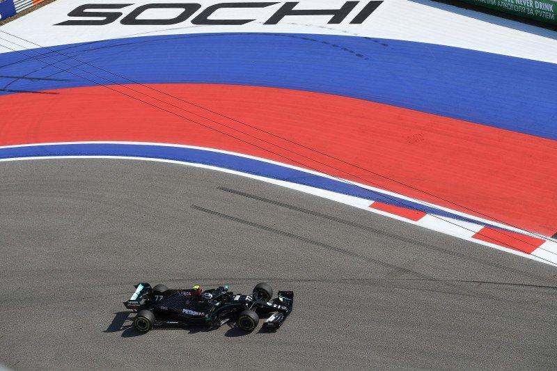 Valtteri Bottas puncaki FP1 GP Rusia, Hamilton finis P19