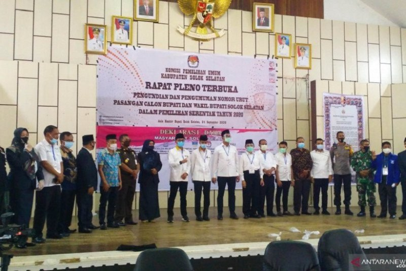 KPU Solsel ajak masyarakat cermati daftar pemilih sementara