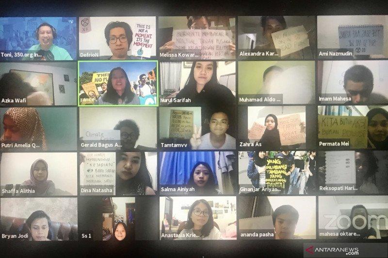 Gelora muda Indonesia  suarakan #ClimateActionNow