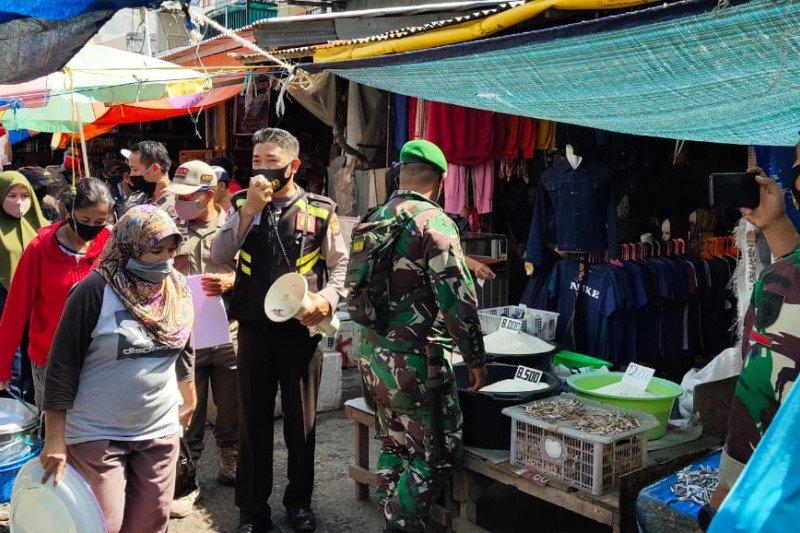 Operasi Yustisi di Makassar sasar pasar tradisional untuk tekan COVID-19