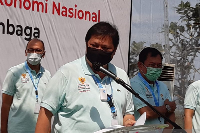 Airlangga Hartato: Pandemi COVID-19 momentum pemulihan ekonomi