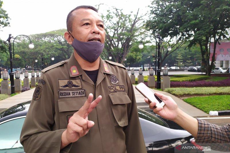 Satpol PP Kota Bandung himpun Rp7 juta denda Operasi Yustisi
