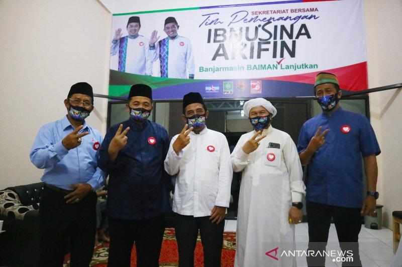 Ibnu-Arifin gelar sholat hajat resmikan posko pemenangan