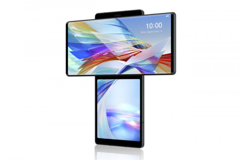 LG mulai jual ponsel layar putar bulan Oktober