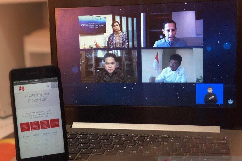 Telkomsel dukung sektor pendidikan dengan bantu kuota data belajar jarak jauh