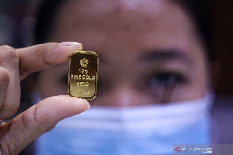 Harga emas Antam kembali naik jadi Rp1.007.000/gram