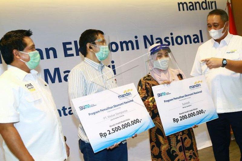 Bank Mandiri Region II Sumatera pacu  penyaluran kredit program PEN