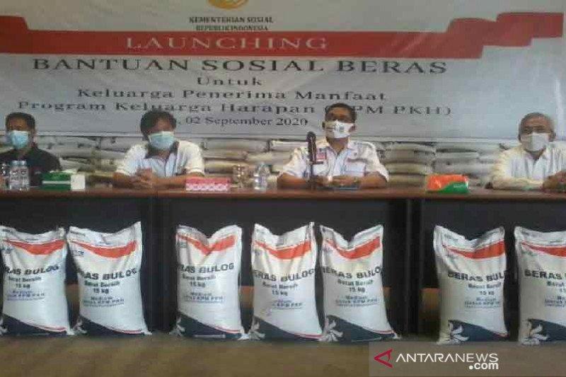 Bansos beras Kemensos  dinilai bantu masyarakat hadapi pandemi COVID-19